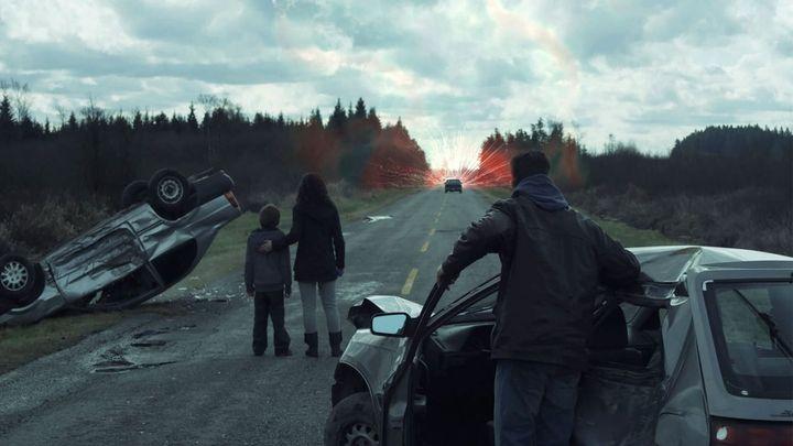 Una scena tratta dal film I dodici disastri di Natale
