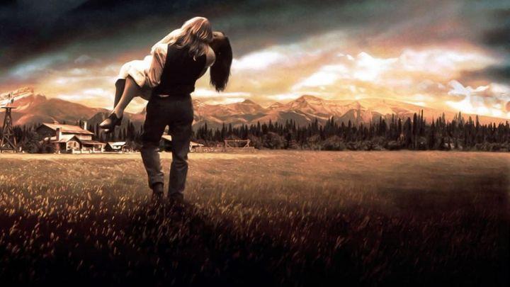 Una scena tratta dal film Vento di passioni