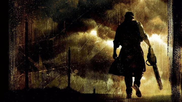 Una scena tratta dal film Non Aprite Quella Porta - L'inizio