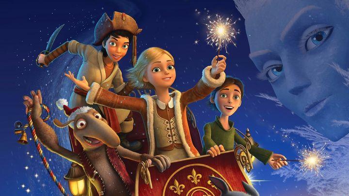 Una scena tratta dal film La regina delle nevi