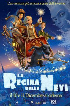 Locandina La regina delle nevi