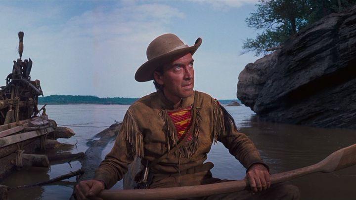 Una scena tratta dal film La conquista del West