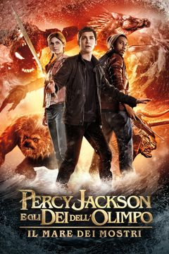 Locandina Percy Jackson E Gli Dei Dell'olimpo - Il Mare Dei Mostri