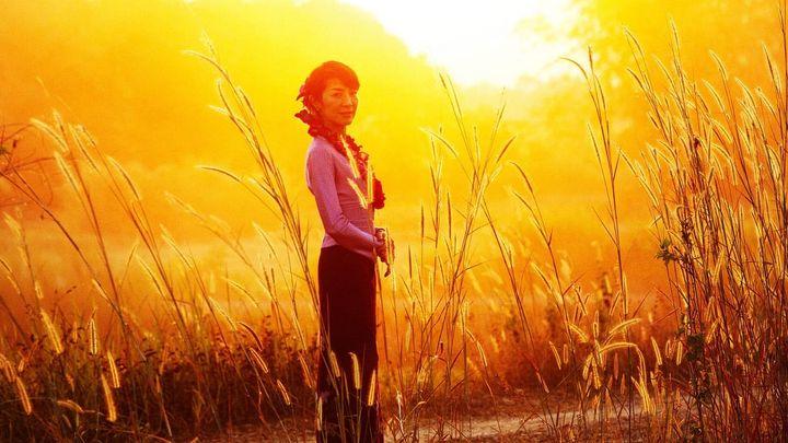 Una scena tratta dal film The Lady