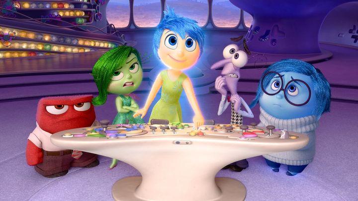 Una scena tratta dal film Inside Out