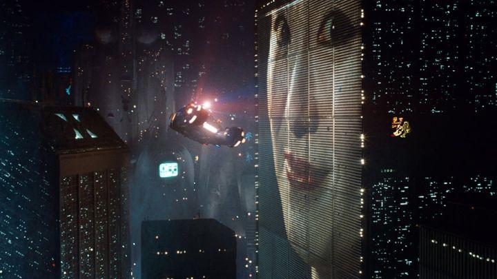 Una scena tratta dal film Blade Runner