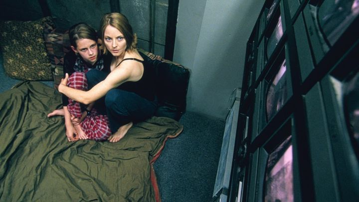 Una scena tratta dal film Panic Room