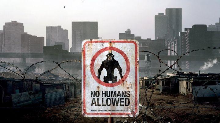 Una scena tratta dal film District 9
