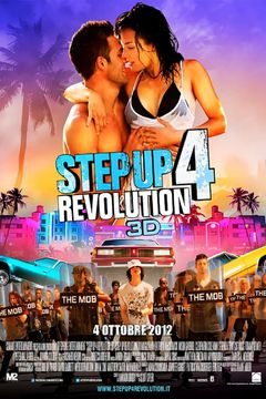 Locandina Step Up 4 Revolution 3D