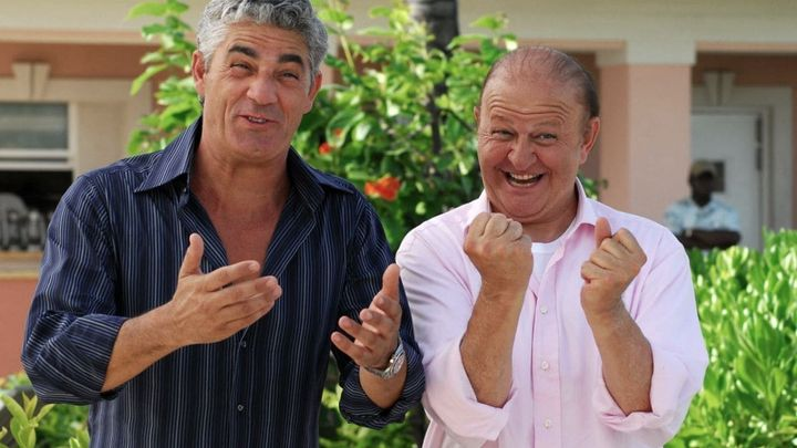 Una scena tratta dal film Matrimonio Alle Bahamas