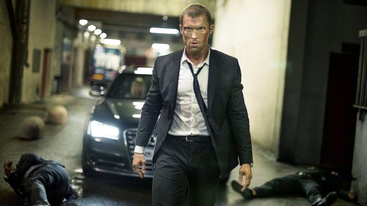 Una scena tratta dal film The Transporter Legacy