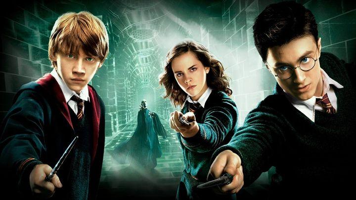 Una scena tratta dal film Harry Potter E L'ordine Della Fenice