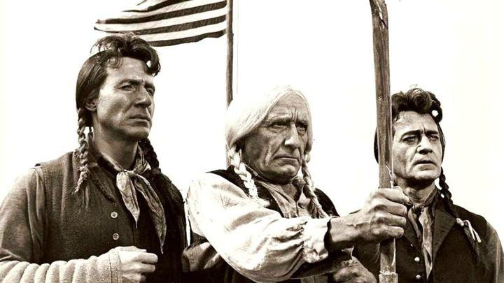 Una scena tratta dal film Il grande sentiero
