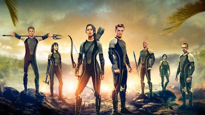 Una scena tratta dal film Hunger Games: La Ragazza Di Fuoco