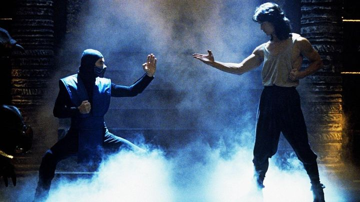 Una scena tratta dal film Mortal Kombat