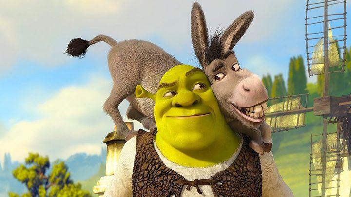 Una scena tratta dal film Shrek