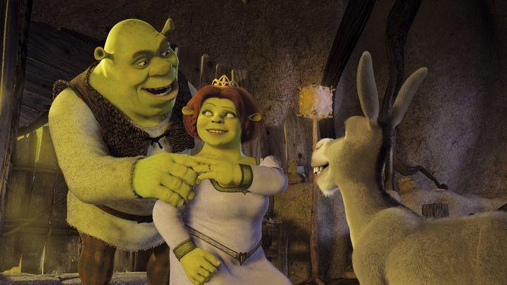 Una scena tratta dal film Shrek 2
