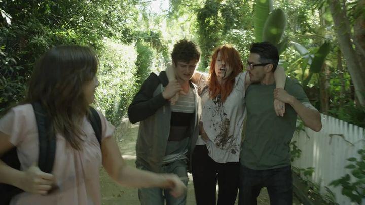 Una scena tratta dal film L.A. Zombie - L'ultima apocalisse