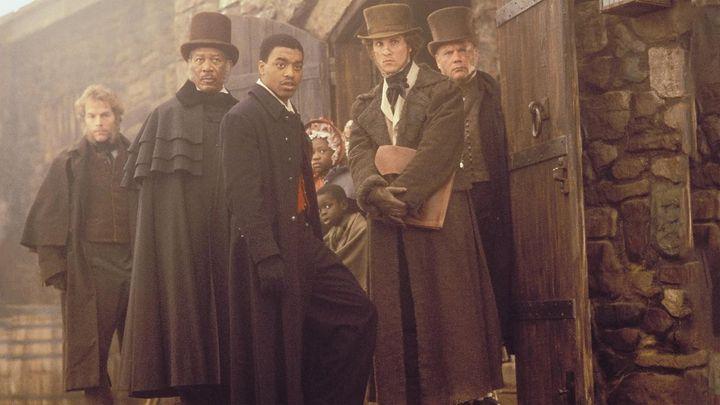 Una scena tratta dal film Amistad