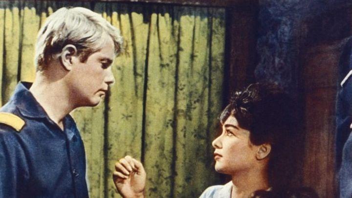 Una scena tratta dal film Far west