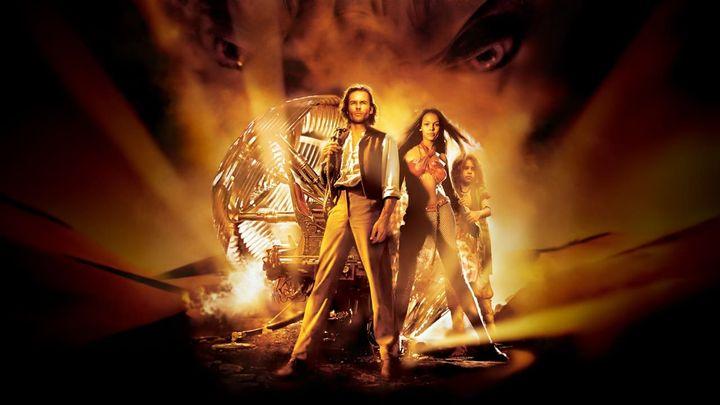 Una scena tratta dal film The Time Machine