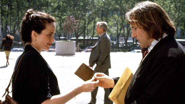 Una scena tratta dal film Green card - Matrimonio di convenienza