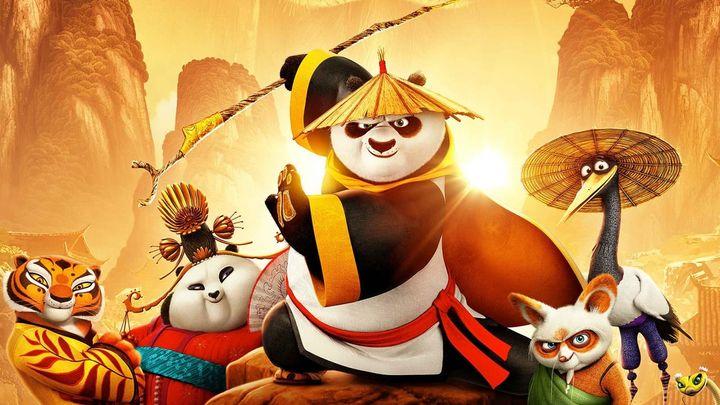 Una scena tratta dal film Kung Fu Panda 3