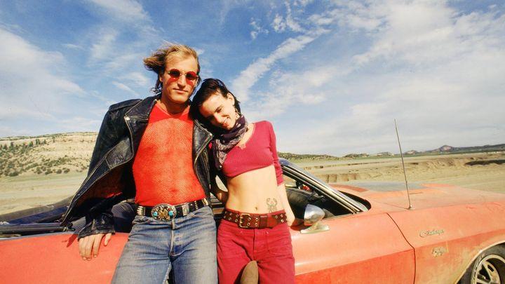 Una scena tratta dal film Assassini nati - Natural Born Killers