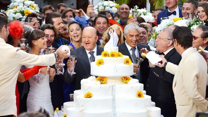 Una scena tratta dal film Matrimonio al Sud