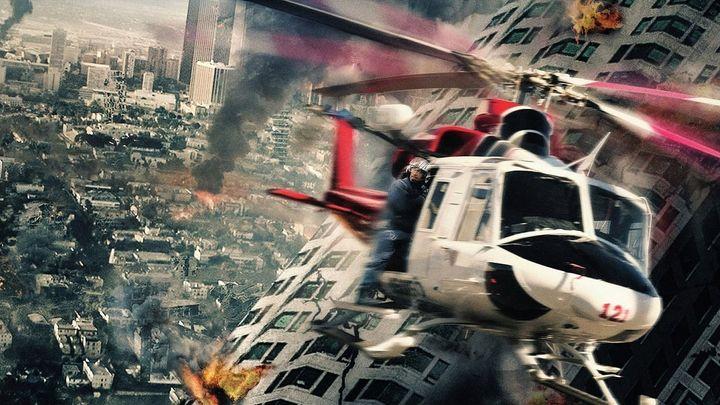 Una scena tratta dal film San Andreas