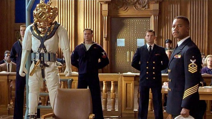 Una scena tratta dal film Men of Honor - L'Onore degli Uomini