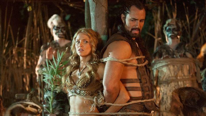 Una scena tratta dal film Il re scorpione 4 - La conquista del potere