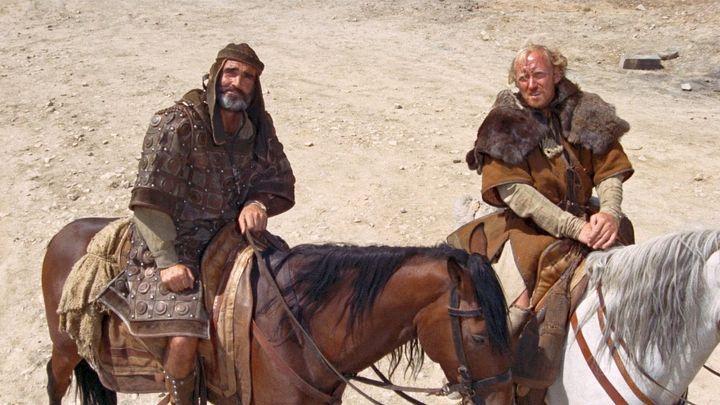 Una scena tratta dal film Robin e Marian