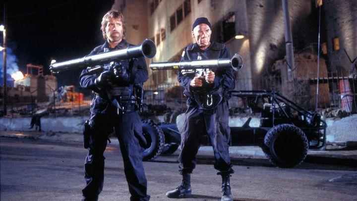Una scena tratta dal film Delta Force