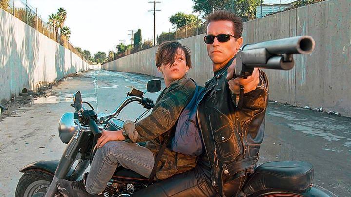 Una scena tratta dal film Terminator 2 - Il Giorno Del Giudizio