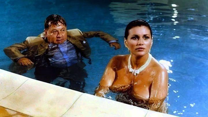 Una scena tratta dal film Rimini, Rimini