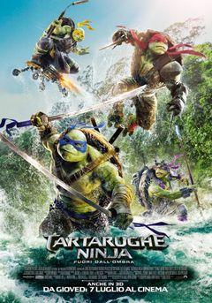Locandina Tartarughe Ninja: Fuori dall'ombra
