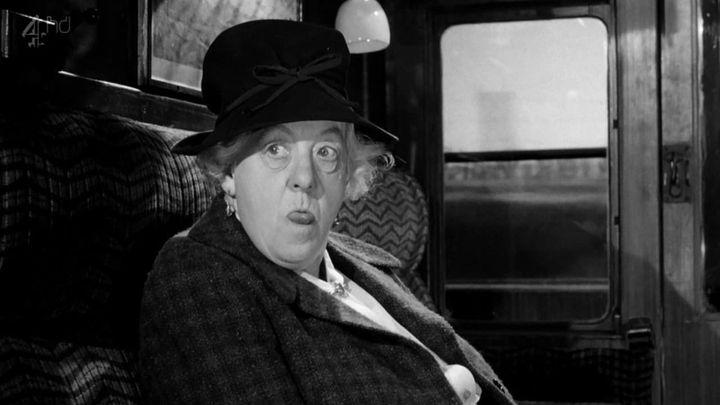 Una scena tratta dal film Assassinio sul treno