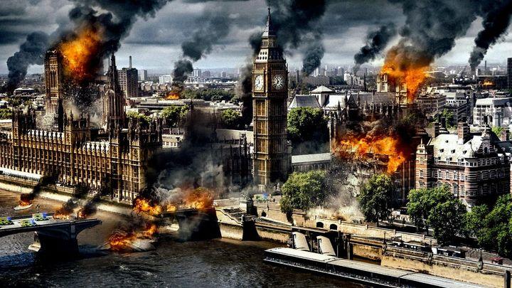 Una scena tratta dal film Attacco al potere 2