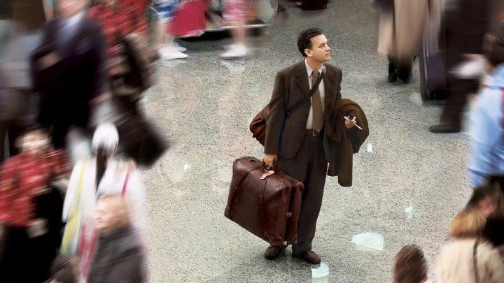 Una scena tratta dal film The Terminal
