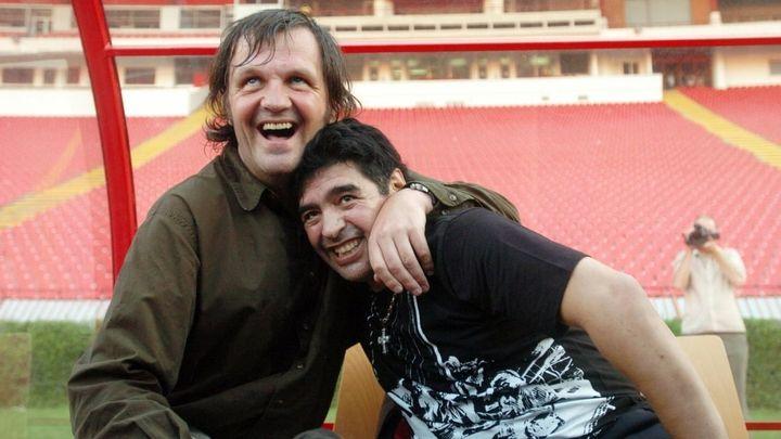 Una scena tratta dal film Maradona by Kusturica