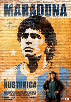 Locandina Maradona by Kusturica