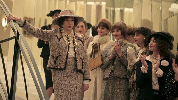 Una scena tratta dal film Coco Chanel