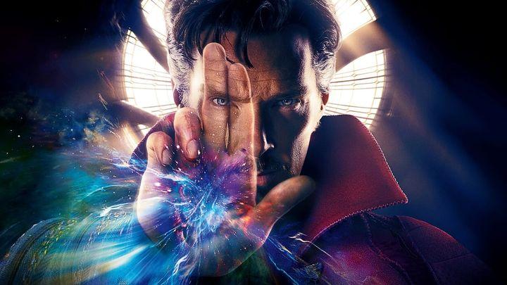 Una scena tratta dal film Doctor Strange