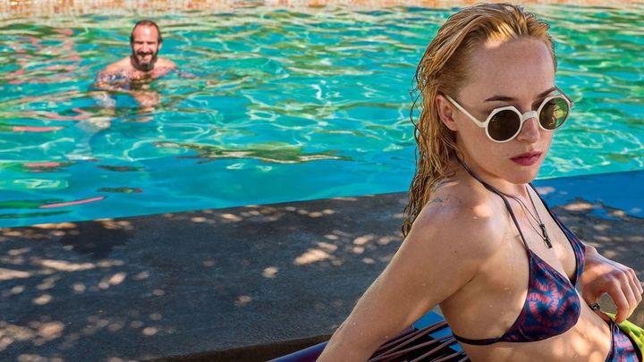 Una scena tratta dal film A Bigger Splash