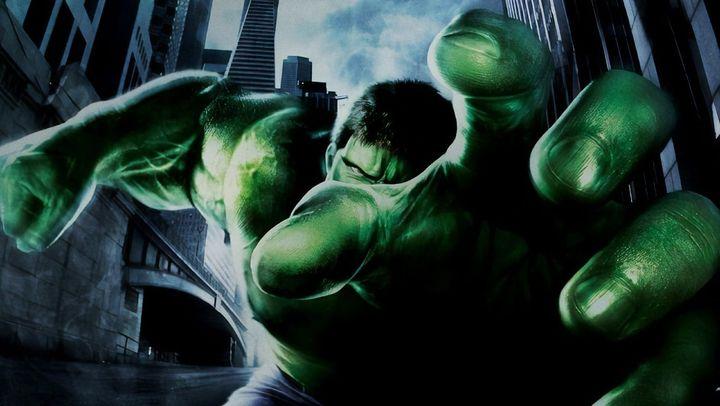 Una scena tratta dal film Hulk
