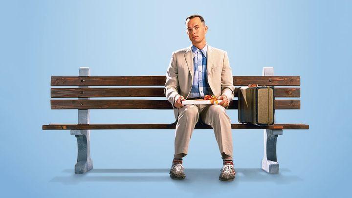 Una scena tratta dal film Forrest Gump