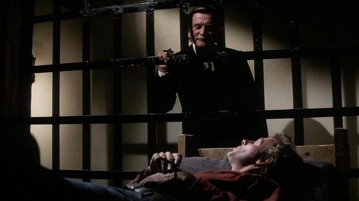 Una scena tratta dal film I Giustizieri Del West