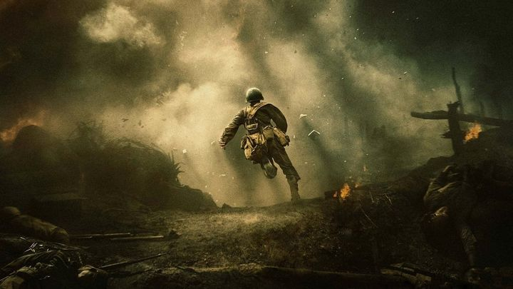 Una scena tratta dal film La battaglia di Hacksaw Ridge