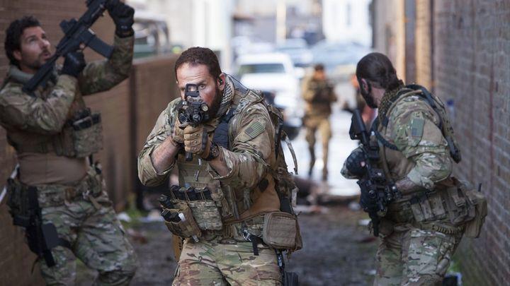 Una scena tratta dal film Navy Seals - Attacco a New Orleans